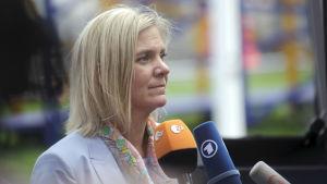 Sveriges finansminister Magdalena Andersson.