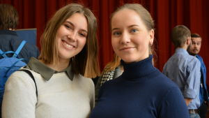 Maricke Behm och Madelin Kivikangas