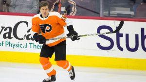 Jori Lehterä har spelat i Philadephia Flyers sedan hösten 2017.