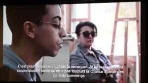 Dokumentär på fransk tv.