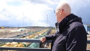 Hamina-Kotkan sataman toimitusjohtaja Kimmo Naski