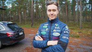 Porträttbild på Emil Lindholm.