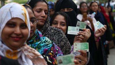 Valet i egypten folj med i processen