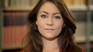 Porträttbild på Maria Ferm, Miljöpartiet.