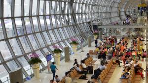 Bangkoks flygplats.