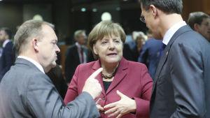 EU-toppmöte om flyktingfrågan 17-18.3 2016.