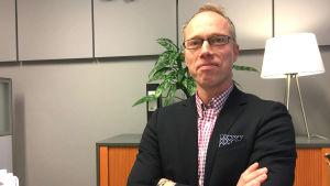 Fastighetsförmedlaren Petri Abrahamsson.