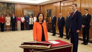 Spaniens nya försvarsminister Margarita Robles