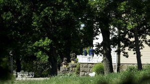 Militära ledare från Ryssland och USA möts på Königstedt gård i Vanda.