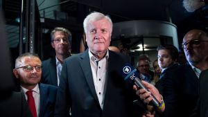 CSU ordförande Horst Seehofer