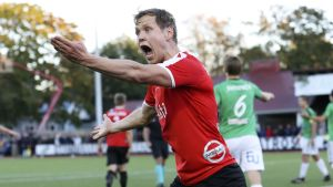 Tuomas Mustonen gjorde HIFK:s 1–0-mål.