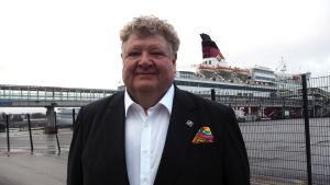Viking Lines marknadsdirektör Kaj Takolander.