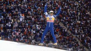Matti Nykänen stal showen i Calgary 1988.