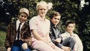 Tartsan Koivula suomalaisessa leppämetsässä (1980).