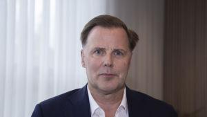 Veikkauksen pääjohtaja Olli Sarekoski
