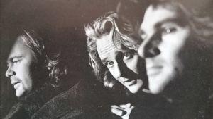 Från vänster Anders Glenmark, Orup eller Thomas Eriksson som han heter på riktigt och Niklas Strömstedt