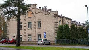 Den byggnad på Ekåsenområdet där mentalvården öppnade 1924.