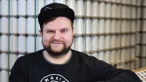 Pienpanimo Makun toimitusjohtaja Ville Makkonen.