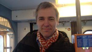 Anders Adlercreutz är besviken på att det nuvarande Y-tåget dras in.