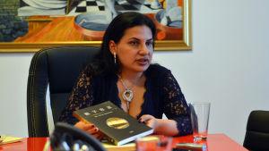 OneCoins grundare Ruja Ignatova ger intervju till Capital.