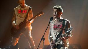 Män med gitarrer