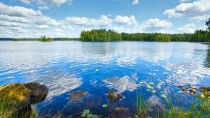 Insjö i Finland