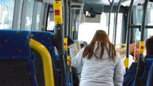 insidan av en buss