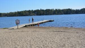 Carpella badstrand i Karperö