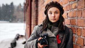 olivia18-pelissä Oliviaa esittää Elli Melasniemi