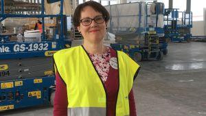 Bibliotekschef Anna-Maria Soininvaara