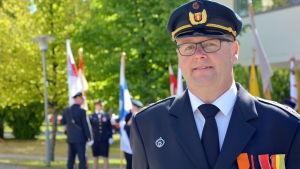 Harri Sorri från Vasa frivilliga brandkår.
