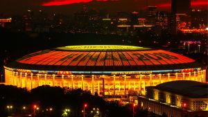VM-finalen spelas i Moskva.