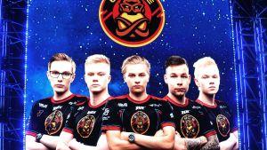 Det finska laget ENCE i Katowice.