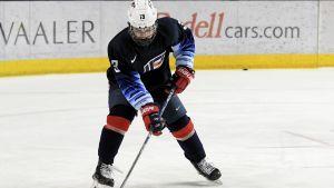 Cole Caufield spelar för USA i U18-VM