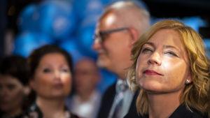 Europarlamenttivaalit 2019. Kokoomuksen mep Henna Virkkunen.