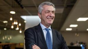 FN:s flyktingkommissarie Filippo Grandi.