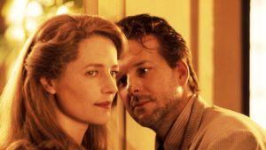 Charlotte Rampling och Mickey Rourke i filmen Angel Heart 2987.