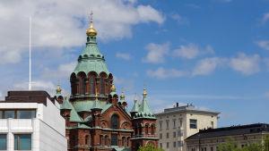 Ortodoxa kyrkan i Helsingfors.