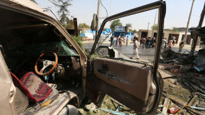 Talibanerna har trappat upp våldet inför fredsförhandlingarna. I onsdags dödades minst 10 människor i ett misslyckat mordförsök på vicepresidenten Amrullah Saleh mitt i Kabul.