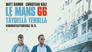 Planschen till Le Mans 66.