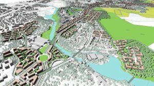 Så här ser planerna för Lahtisleden ut.