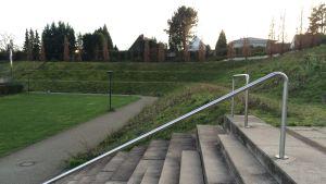 Det forna Bökelbergstadion i Mönchengladbach. I dag ett bostadsområde.