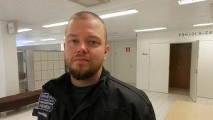Förstavårdschef Oscar Hagström vid Soite i Karleby