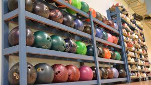 Bowlingklot i Lovisa bowlinghall