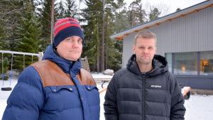 Patrik Berghäll och Bo Blomqvist.