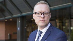 Porvoon kaupunginjohtaja Jukka-Pekka Ujula.