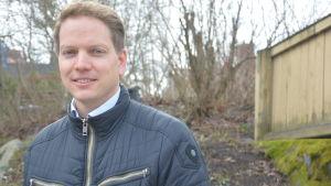 Frank Hoverfelt är vd för Ekenäs Energi.