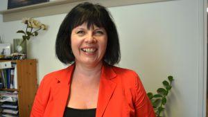 Maija Aarnio, verksamhetsledare på Vasa företagare.