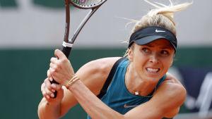 Elina Svitolina utslagen på Roland Garros.