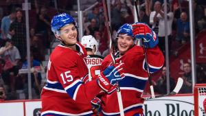 Jesperi Kotkaniemi spelar i Montreal Canadiens.